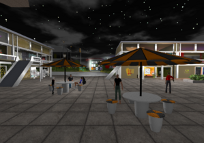 Wright Plaza on OSGrid
