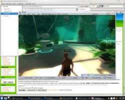 RealXtend Viewer Linux - OpenSimulator